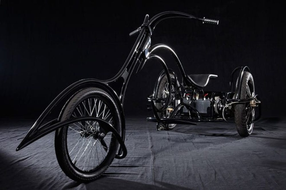 Wicked-Looking Electric Trike Can Go 45 MPH
