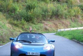 German Man Drives Tesla Roadster 40,000 Miles In A Year