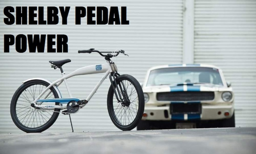 Carroll Shelby Builds A Bicycle