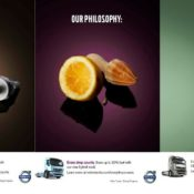 Volvo's New Ad Campaign:  Every Drop Counts