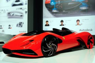 "Students Win Ferrari Design Contest with Hydrogen-Hybrid ""Eternita"""