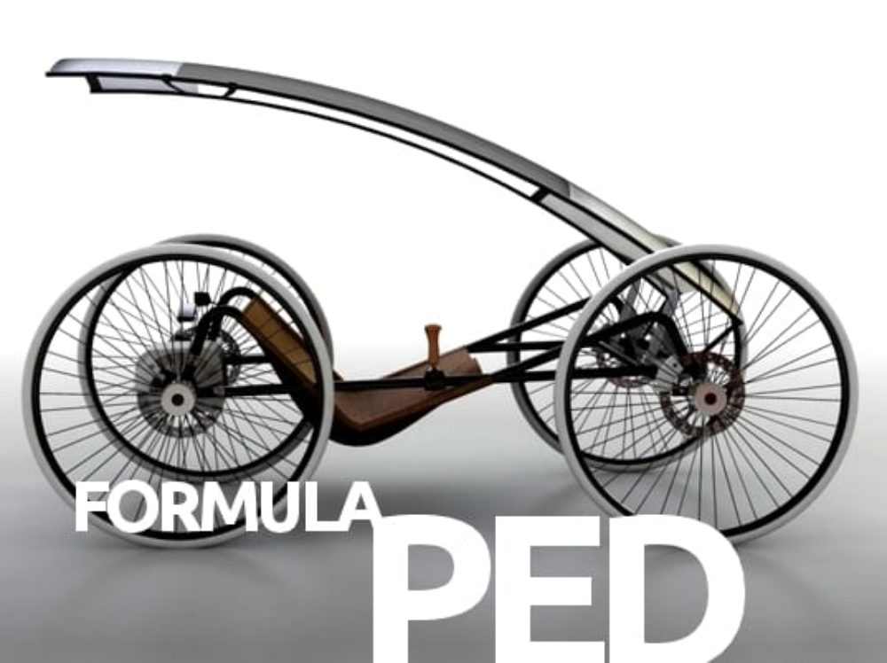 Nico Jaras' Pedal Car Brings KERS Power to the People