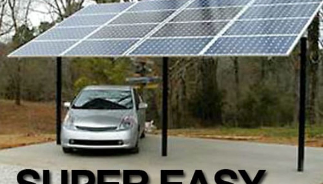 It Counts! Germans Get Incentives to Build Solar Carports