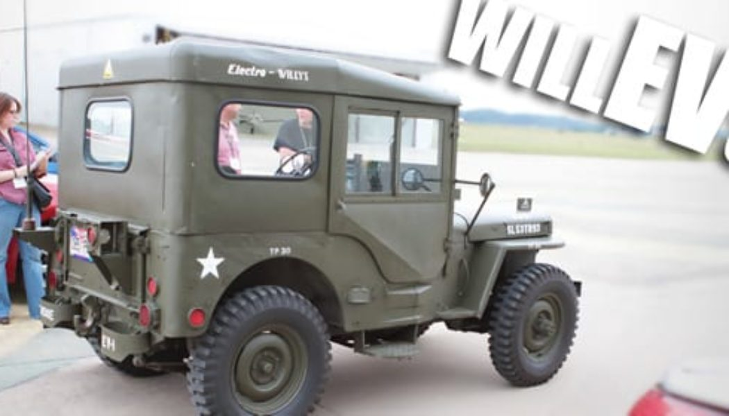 EVCONN 2011:  Mike Picard's Electric Willys Jeep Conversion