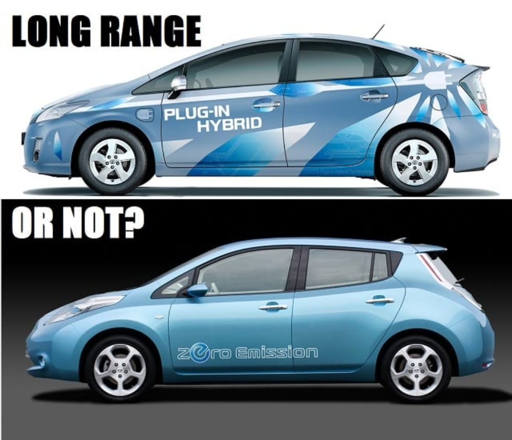 Toyota Developing 600+ Mile Battery; Nissan Says Long Range EV's Unnecessary