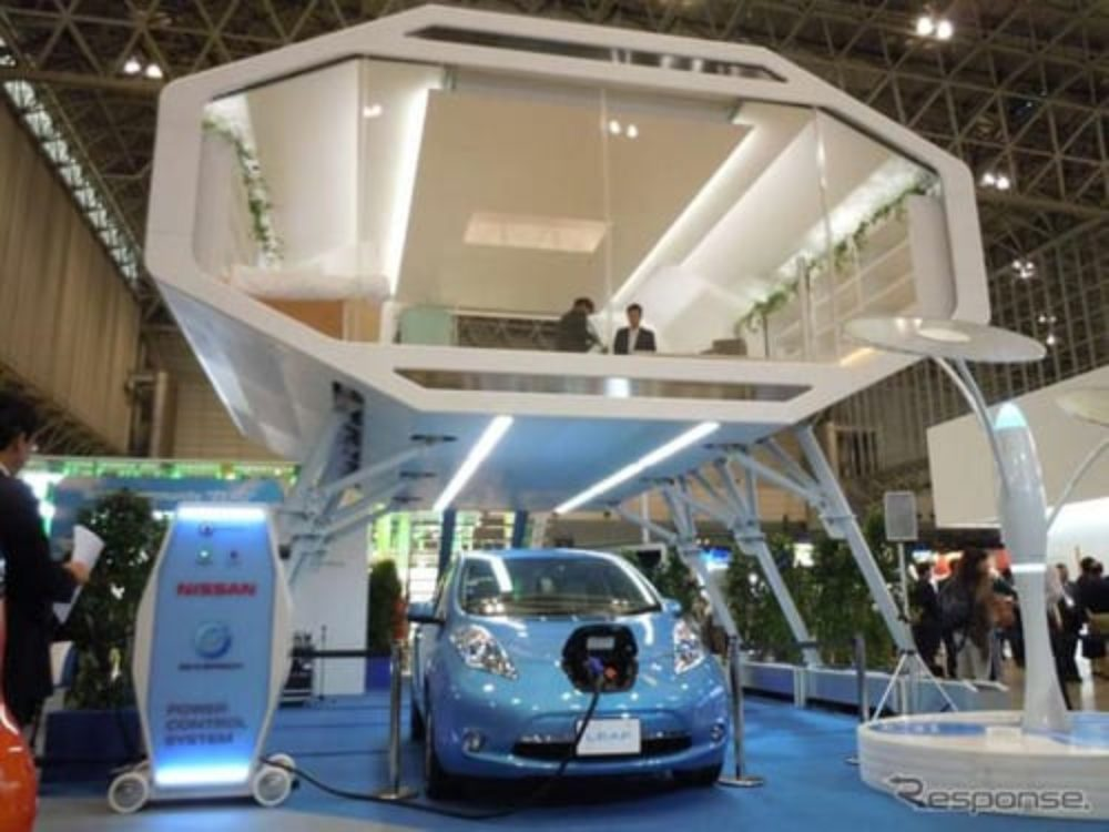 Nissan Leaf-to-Home: Yes, It's A Nissan e-Home