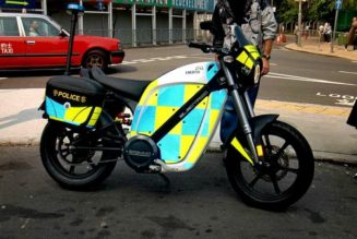 Hong Kong Police Replace Gas Motorcycles With Brammo EV's