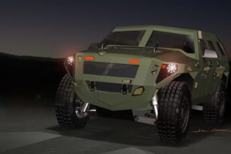 Military's New Super-Efficient Humvee Gets 6.8 MPG