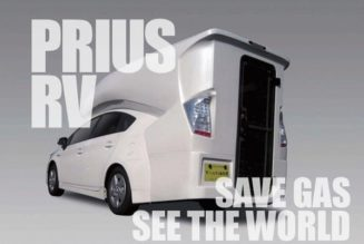 Plug in, Hit the Road:  Toyota Prius Camper