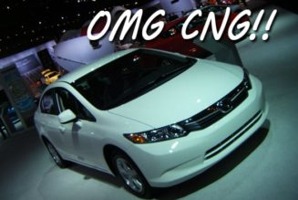 The CNG Civic GX Returns!
