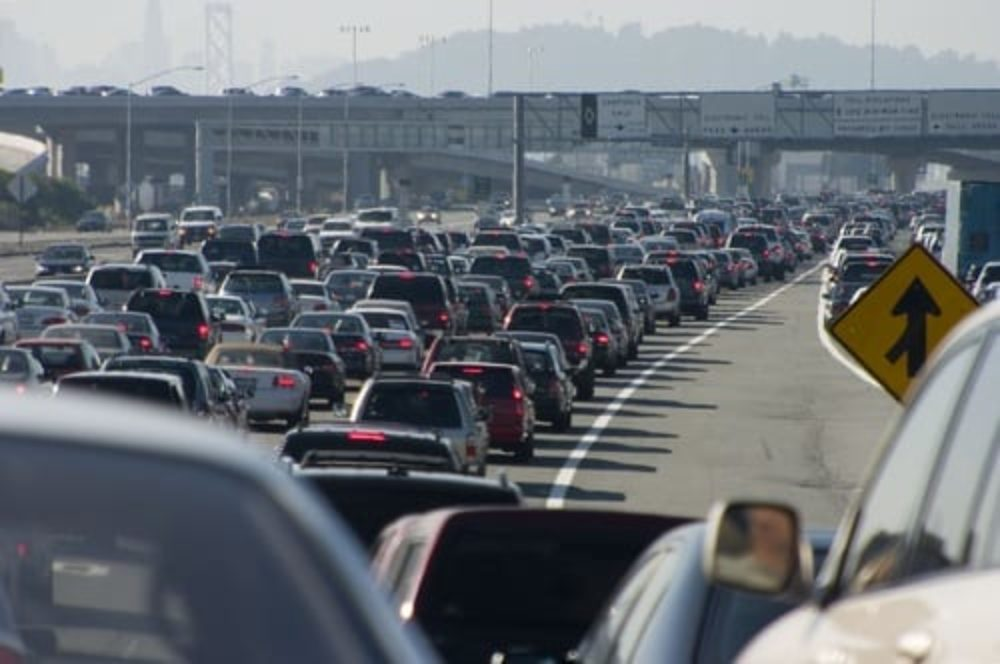 air pollution from not electric cars