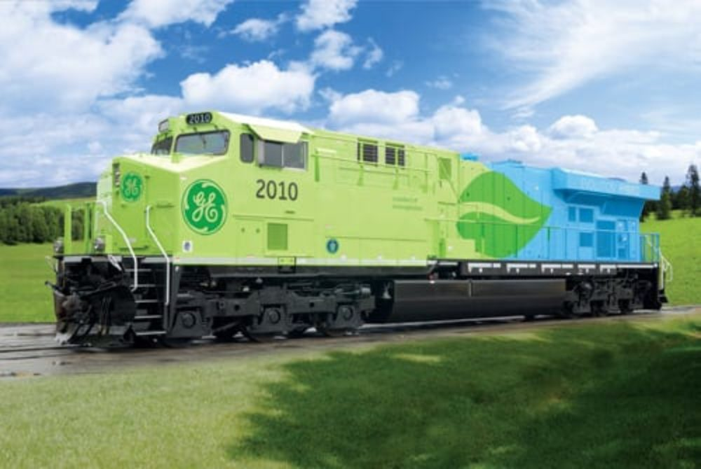 GE's Hybrid Locomotive Cuts Fuel Consumption And Emissions
