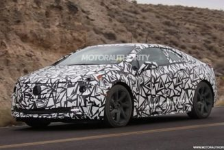 Spy Pics: Cadillac ELR Caught Camouflaged In The Wild