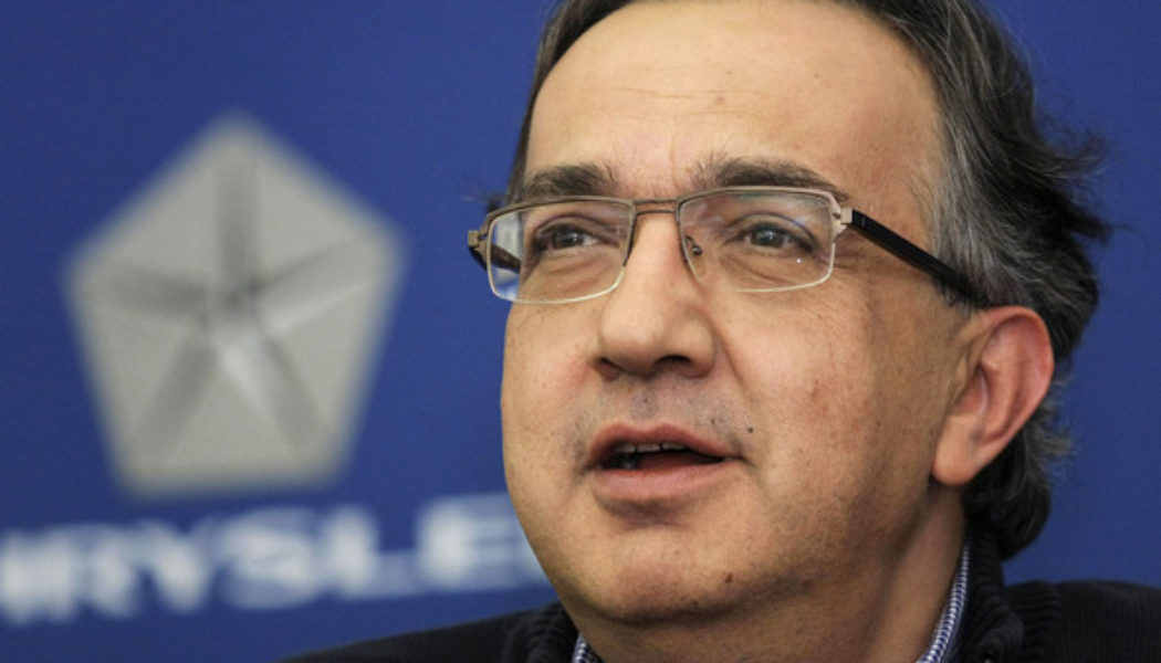 Marchionne Believes Too Many Electric Cars Could Endanger The Planet