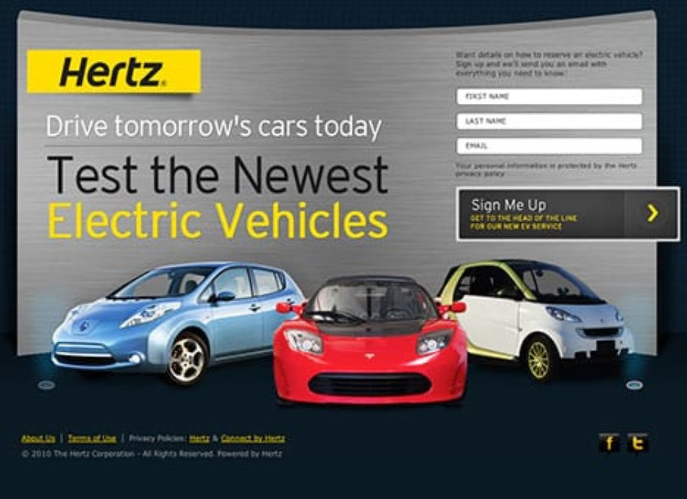 Hertz Asks New York Residents Where They Want To Rent EVs