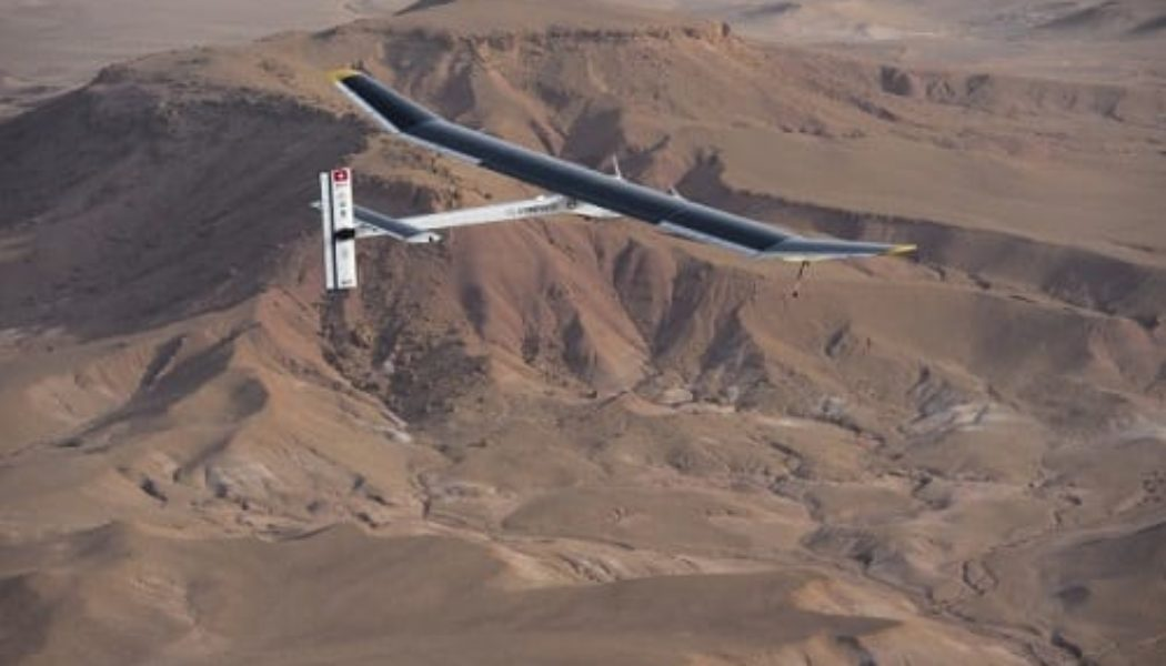 Solar Impulse EV Airplane Aiming For New York-To-California Flight In 2013