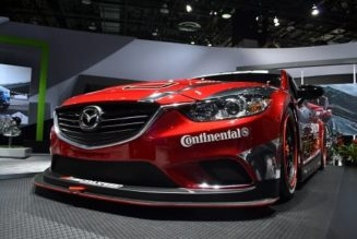 NAIAS 2013: The Mazda SkyActiv-D Diesel-Powered Race Car