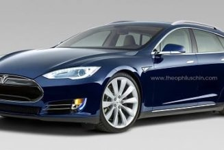 Tesla Model S Wagon Rendered