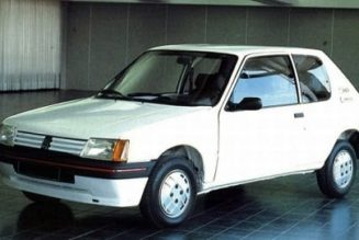 Flashback Friday: The Peugeot 205 EV That Almost Was