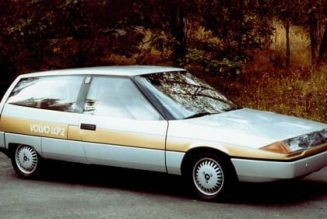 Flashback Friday: The Volvo LCP Achieved 58 MPG In 1983