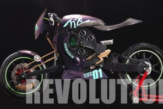 Revolver – the Compressed Air Powered Motorcycle from Taiwan