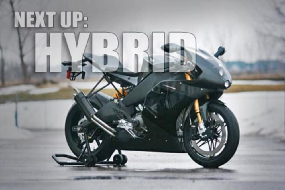 Erik Buell Racing Patents 400 hp Hybrid Motorcycle