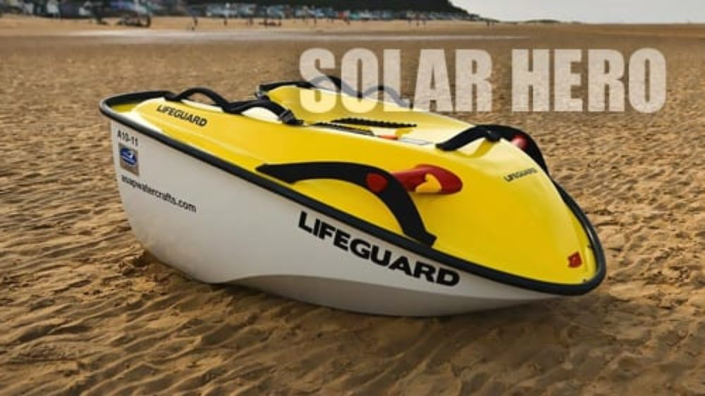 Solar Jet Ski is Perfect for Oil-free Watersports