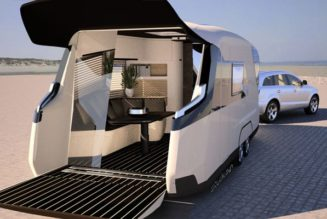 Caravisio Luxury Camper Is A High-Class Home On Wheels
