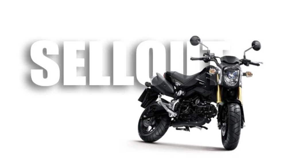 Of Course it is:  Honda Grom 125 is Selling Like Hotcakes