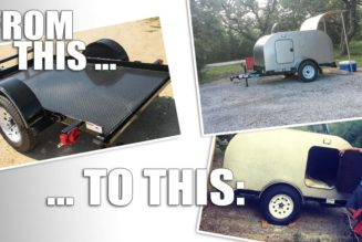 Don't Buy It, Build It:  DIY Teardrop Trailer