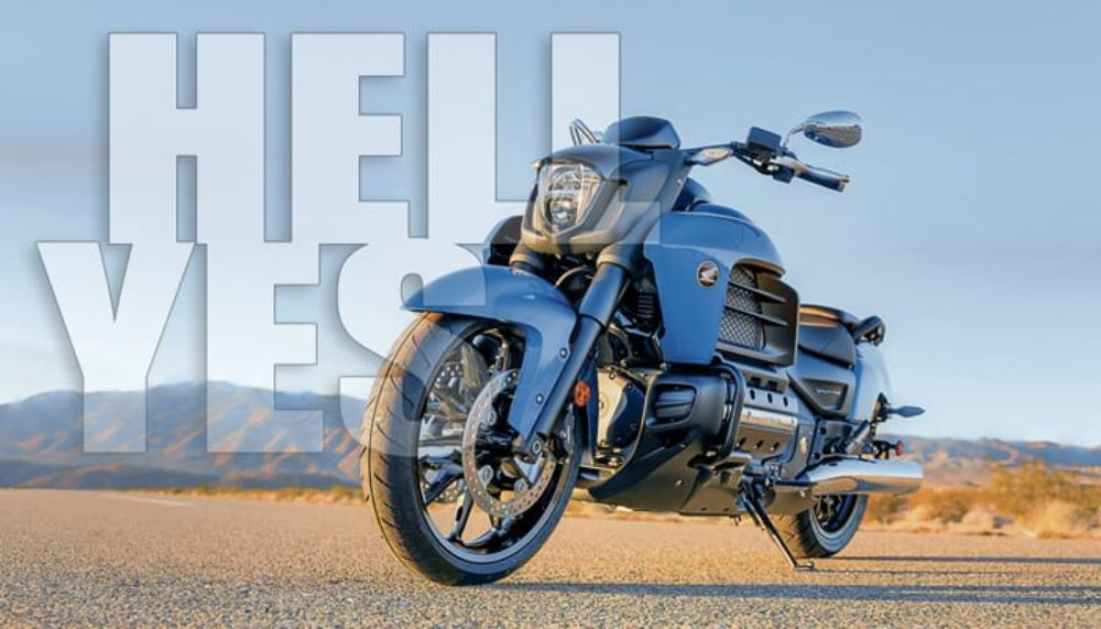 The New Honda Valkyrie Mocks Your Midlife Crisis Chopper (w/ Video)