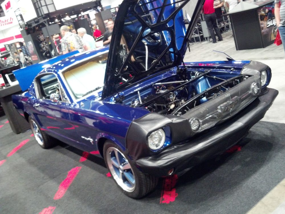 Home-Built Electric Mustang Makes SEMA Appearance