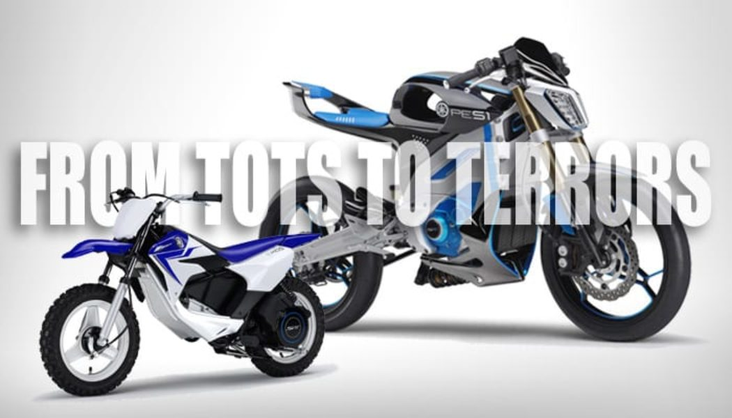 The Only 5 Motorcycles You'll Need:  the Yamaha Electric Ecosystem