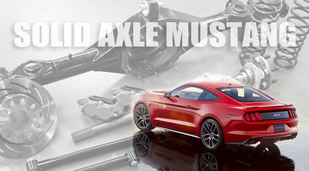 """Ford Racing:  2015 Mustang """"Body in White"""" with Ford 9"""" Coming"""