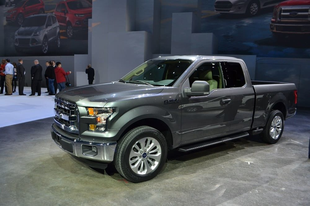2015 Ford F-150 Curb Weights Revealed