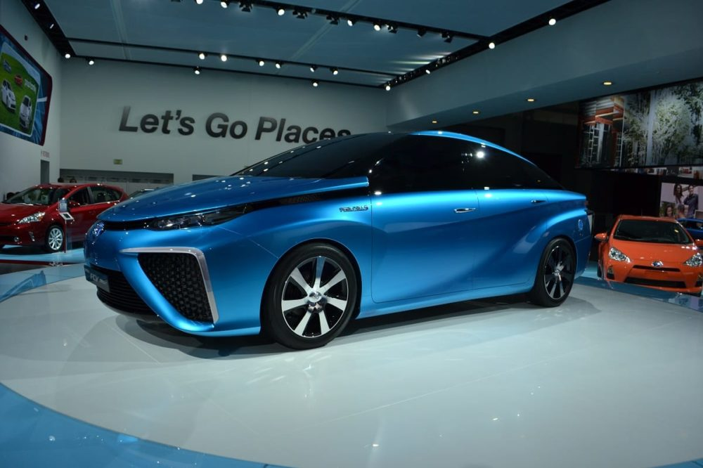 Toyota Shoots Hydrogen Tank To Make A Point