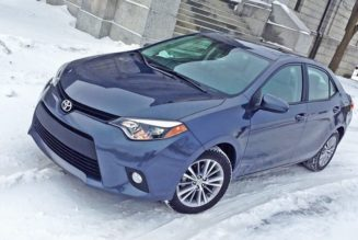 2014 Toyota Corolla Gets the Chicago Winter Test, 51 MPG