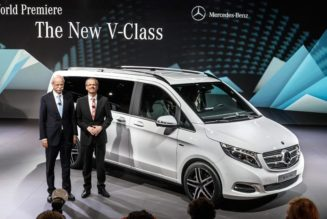 2015 Mercedes Minivan Launches in Europe