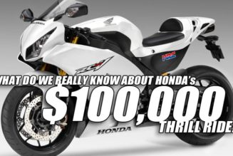 $100,000 2015 Honda RCV 1000 Street Engine Revealed