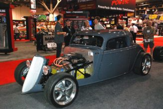 Factory Five Electric '33 Ford Roadster Debuts at SEMA