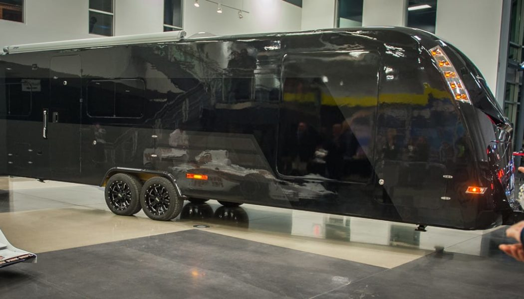 World's First Carbon Fiber RV Is Eco-Chic Luxury On Wheels