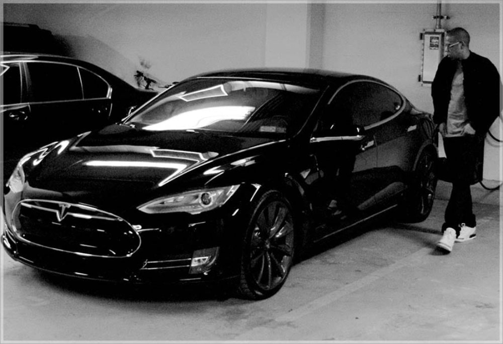 Hip-Hop Icons Love The Tesla Model S