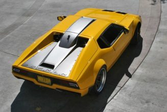 Restomod DeTomaso Pantera is What Recycled Hawtness is All About