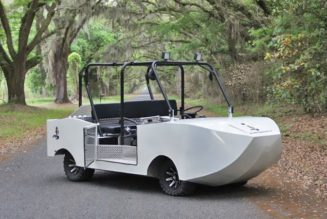 Hydra Gator is a $60K, Amphibious Hybrid Golf Cart