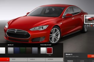 Tesla Model S Color Palette Reportedly Expanding
