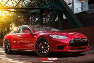 Tesla Model S Coupe Gets Sportier Rendering
