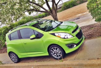 Chevy Spark:  if You Don't Like My Driving, Stay Off the Sidewalk