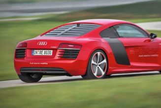 2015 Audi R8 e-tron Coming, More EVs to Follow