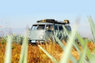Recycled Hawtness:  Solar VW Bus is Built for Adventure