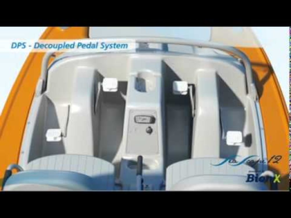 BionX SeaScape 12 Pedal-electric Paddle Boat (video)